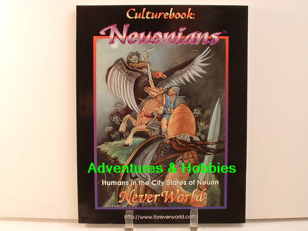Fantasy RPG Neuonians Culturebook NeverWorld New OOP D7