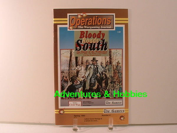 Operations #4 Wargaming Journal 1992 The Gamers New BD