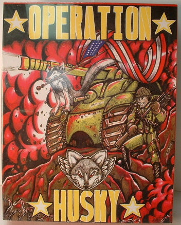 Operation Husky WWII Sicilian Campaign Wargame New AC Sealed