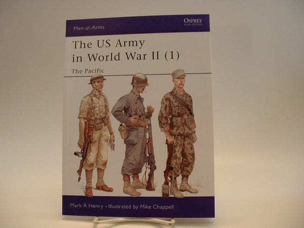 Osprey Men-At-Arms #342 US Army in World War II Pac GC