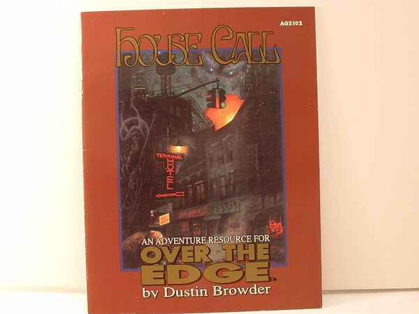 Over the Edge House Call Adventure Horror EC Atlas Games