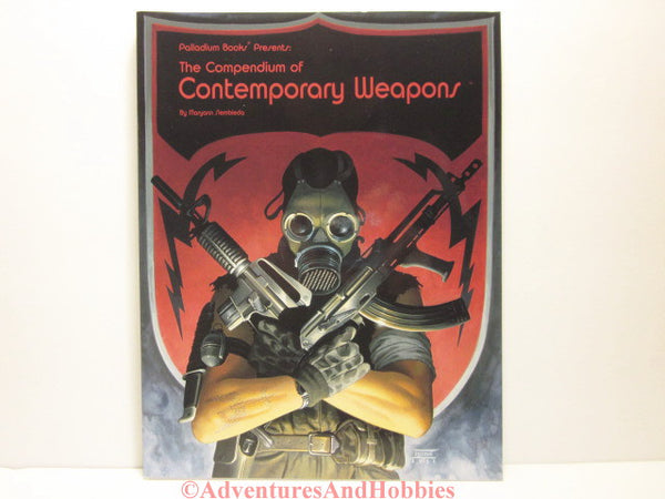 Compendium of Contemporary Weapons reference book for modern role-playing games including Palladium and others.