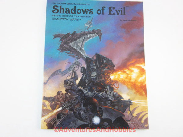 Rifts Shadows of Evil Siege on Tolkeen Coalition Wars RPG Palladium CP