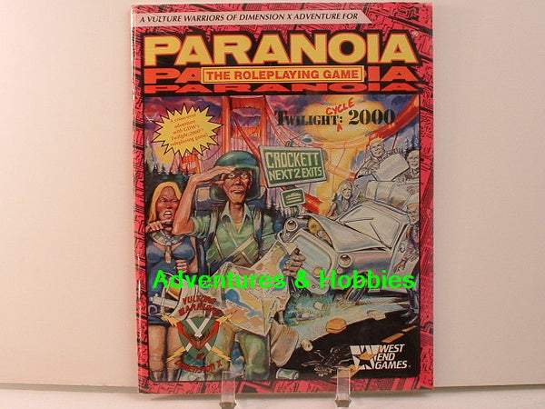 Paranoia Twilight: 2000 Cycle Dimension X New D7 West End Games RPG