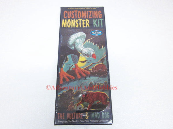 Vulture & Mad Dog Customizing Monster Kit Polar Lights 5021 Sealed AQ-H