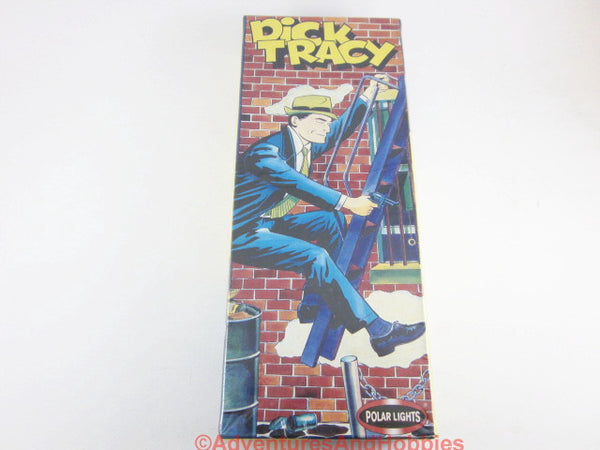 Polar Lights Dick Tracy Comic Book Character Police Plastic Model 5093 Sealed co