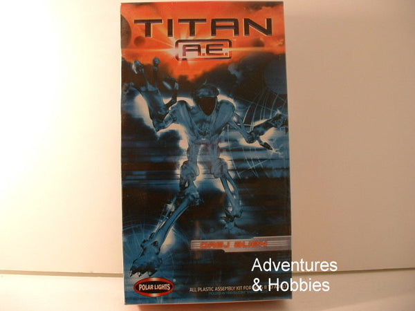 Titan AE Movie Drej Alien Science Fiction Model OOP Polar Lights 5094 BC