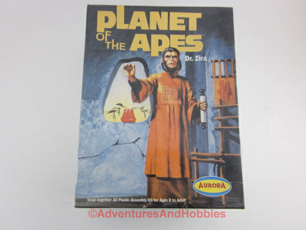 Planet of the Apes Dr. Zira Snap Plastic Model Kit Polar Lights 6804 Sealed EO