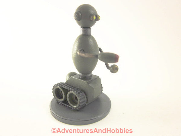 Science Fiction Miniature Robot Tracked Security Bot Soldier R112 25-28mm 40K