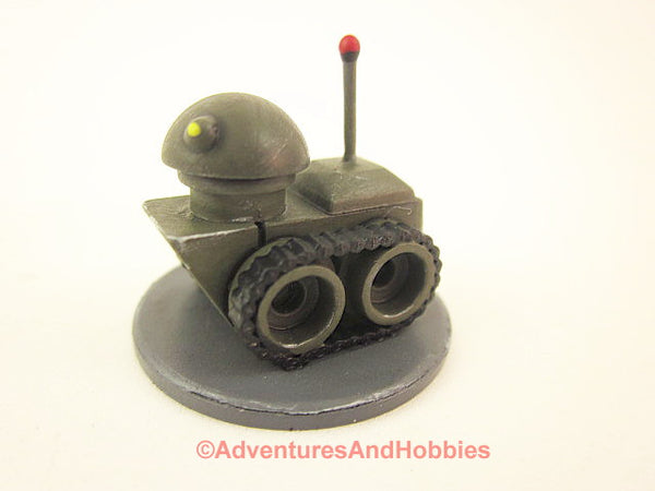 Science Fiction Miniature Robot Tracked Recon Bot R116 25-28mm 40K