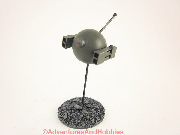 Science Fiction Miniature Aerial Robot Warbot Drone Painted 25-28mm R127 40K