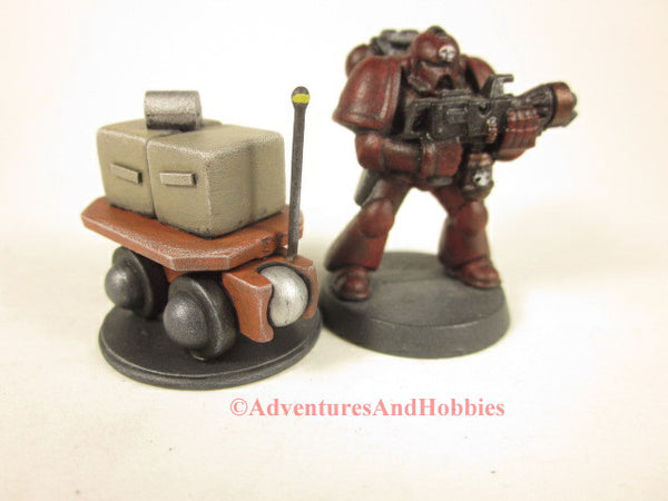 Miniature Robot Personal Cargo Carrier R131 25-28mm Science Fiction