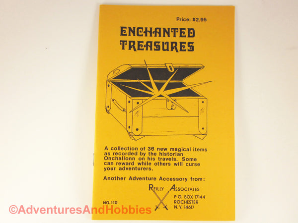 D&D Enchanted Treasures 1981 Dungeons Dragons Reilly Associates D8