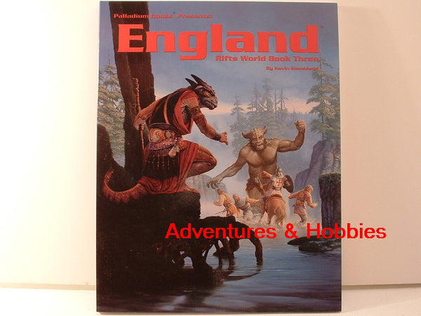 Rifts RPG England World Book #3 Palladium Books New GC