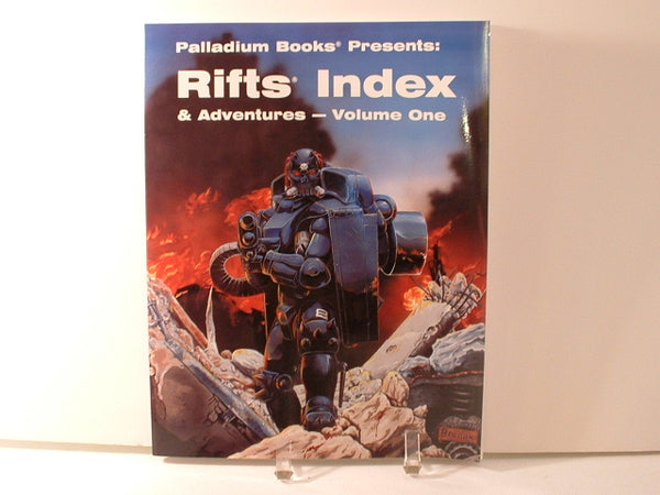 Rifts Index and Adventures Volume One New OOP Palladium EC