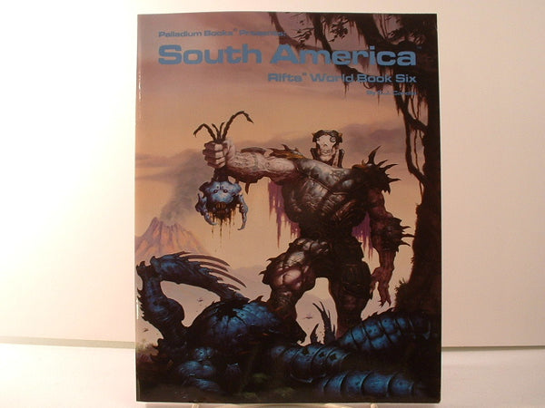 Rifts South America World Book NM/Mint Palladium KA