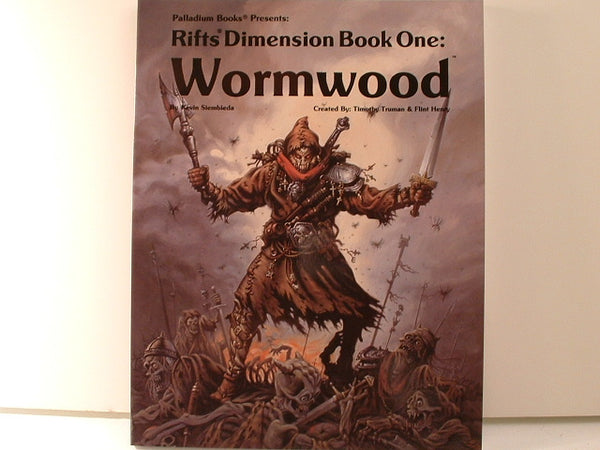 Rifts Dimension Book: Wormwood New Palladium Books CB RPG