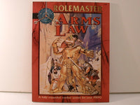 Rolemaster AD&D Arms Law Fantasy Combat System ICE New KB