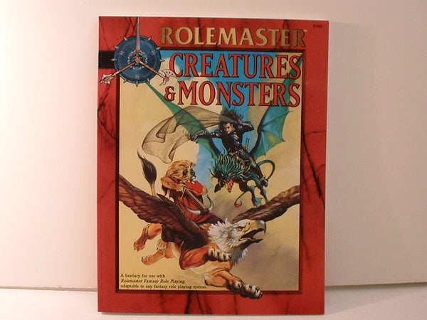 Rolemaster Fantasy Creatures & Monsters Bestiary ICE L5