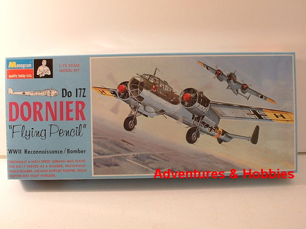 1:72 WWII German Dornier Do17Z Bomber Revell Monogram 214 CC