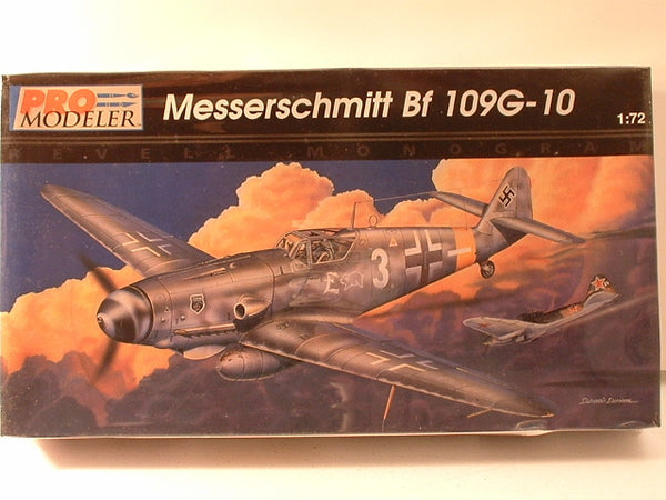 1:72 WW2 German Messerschmitt Bf 109G-10 Revell Pro-Modeler 5940 GB