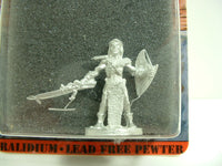 Fantasy Miniature Dracton Warrior Ral Partha 61-112 Unpainted D&D