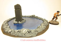 Call of Cthulhu Monument in Pool S170 War Game Terrain 25-28mm Horror Fantasy Scenery