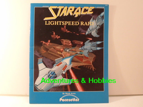 Star Ace Lightspeed Raid Adventure Pacesetter 1984 OOP IC