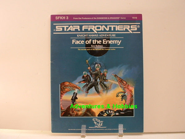Star Frontiers Face of the Enemy TSR 84 Knight Hawks OOP D8