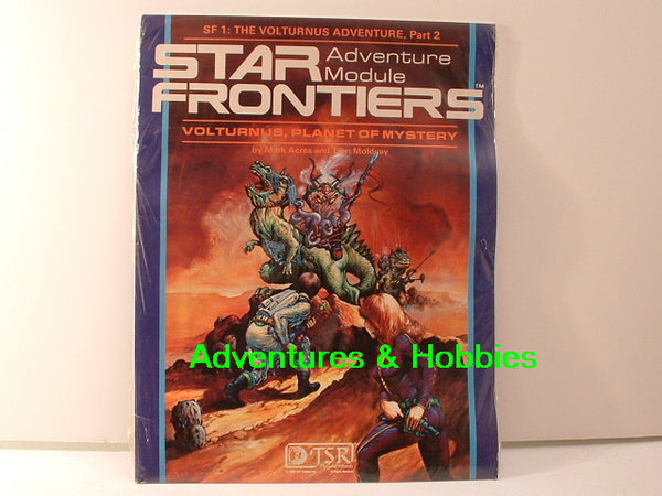 Star Frontiers Volturnus Planet of Mystery TSR 7801 1982 JC Sealed Shrinkwrap