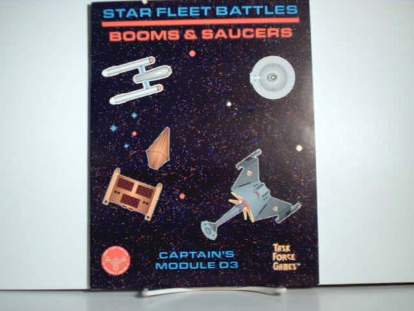 Star Fleet Battles Booms and Saucers Module New OOP JB Star Trek Game Expansion