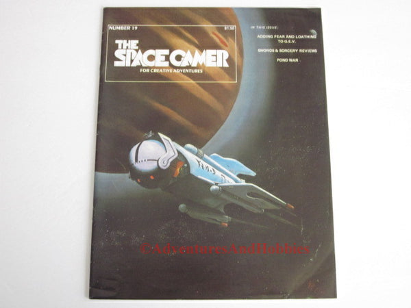 Space Gamer Magazine #19 GEV Pond War Metagaming 1978