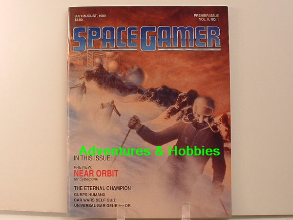 Space Gamer Mag 1989 Premier C7 GURPS AD&D Call of Cthulhu Traveller