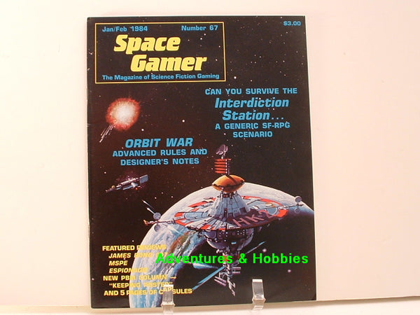Space Gamer Magazine #67 Traveller Orbit War 1984 OOP E8