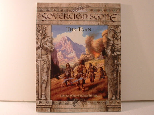 Sovereign Stone The Taan Race Fantasy Sourcebook New OOP J5