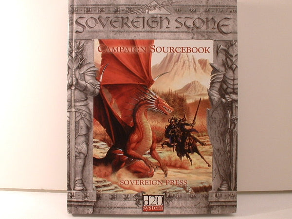 Soverign Stone Campaign Sourcebook D20 Fantasy New OOP K5