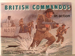 Squadron British Commandos In Action Military WW2 Reference 3008 JB