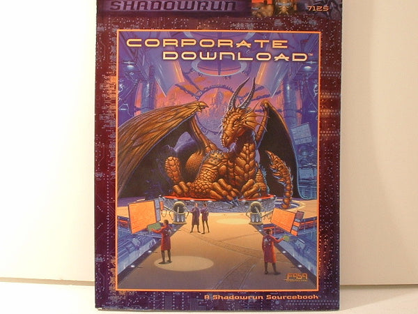 Shadowrun Corporate Download Sourcebook New FASA OOP BC