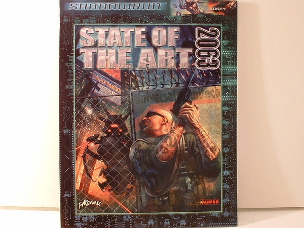 Shadowrun State of the Art 2063 Sourcebook New E6 FanPro Cyberpunk
