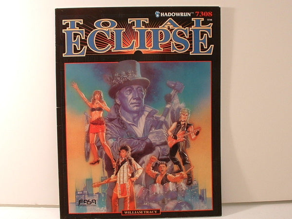 Shadowrun Total Eclipse RPG Adventure 1991 FASA OOP JB