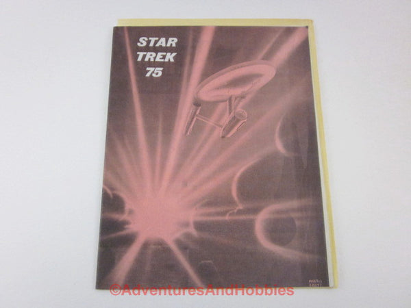 Classic Original Series Star Trek Fanzine #75 Cast Interviews Photos CN