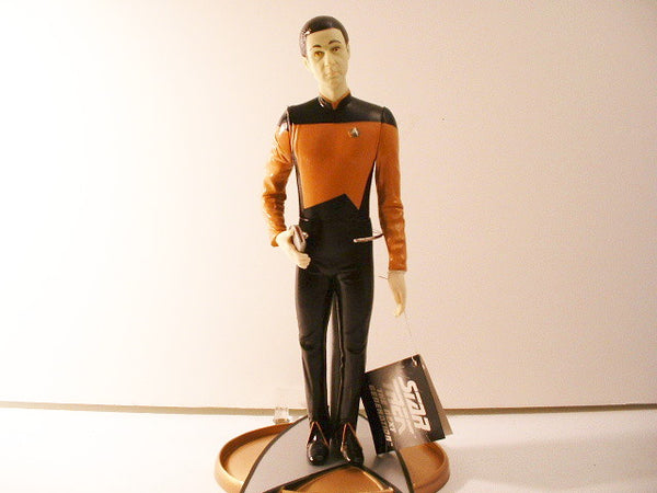 Star Trek TNG Lt Commander Data Vinyl Doll New OOP FB