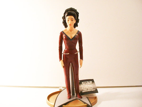 Star Trek TNG Counselor Troi Vinyl Doll New OOP FB
