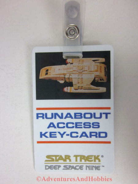 Star Trek Deep Space Nine Runabout Access Key Card ID Badge Cosplay 1993 BQ