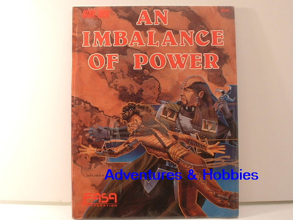 Star Trek RPG An Imbalance of Power FASA 1986 New OOP HC