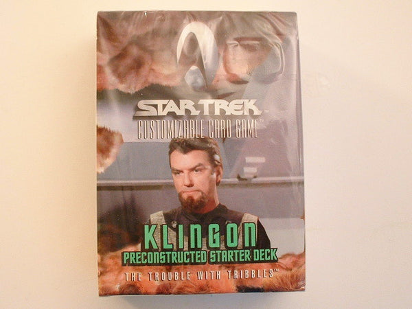 Decipher Star Trek Trouble with Tribbles KLINGON Deck CCG AB