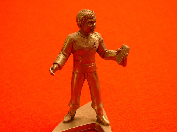 Classic Star Trek Ensign Chekov Pewter Miniature Figure OOP EB