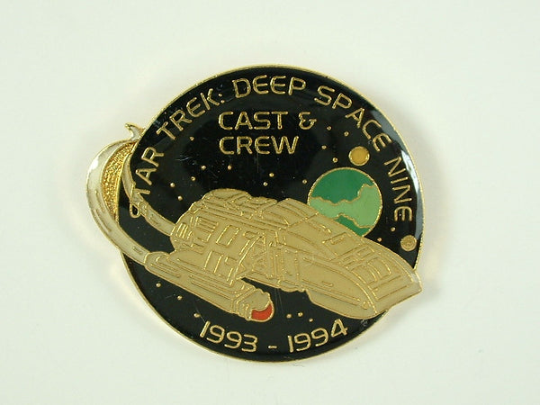 Star Trek Pin Deep Space Nine Cast and Crew 1993-1994 Hollywood Pins