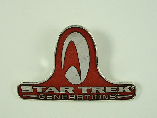 Star Trek Pin Generations Movie Logo 1994 Hollywood Pins Metal Cloisonne