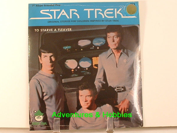 Star Trek 45rpm Record To Starve a Fleaver 1979 New L7